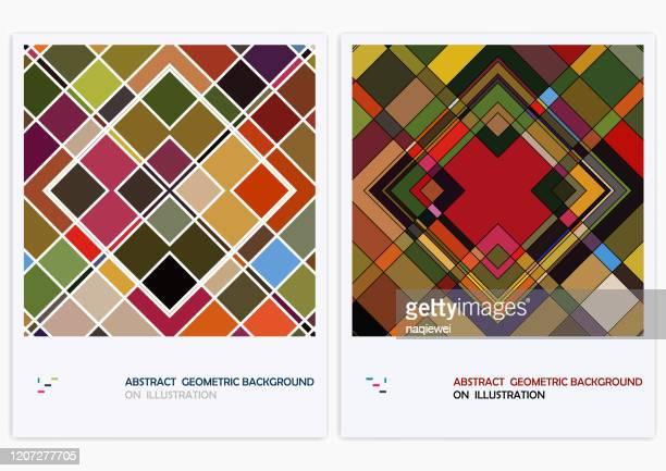 デザイン、抽象的な背景のためのベクトルカラフルな幾何学模様 - 山形模様点のイラスト素材/クリップアート素材/マンガ素材/アイコン素材
