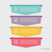 Vector colorful info graphics for your business presentations. C