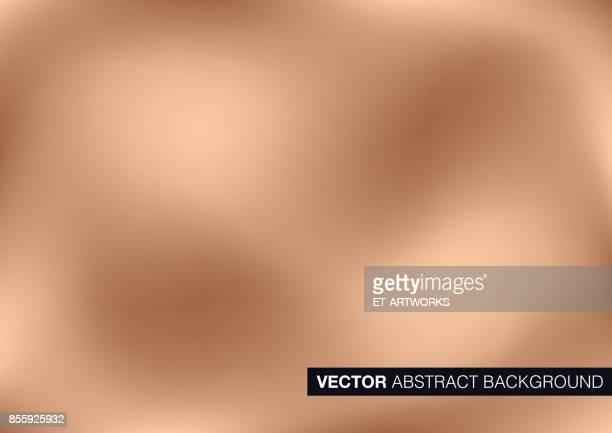 Vector copper metal background