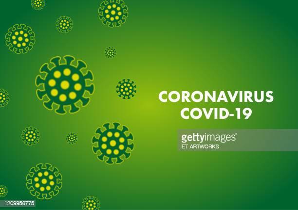 vector coronovirus background - coronavirus stock illustrations