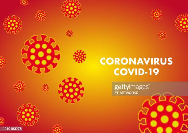 vector coronovirus hintergrund - corona sun stock-grafiken, -clipart, -cartoons und -symbole