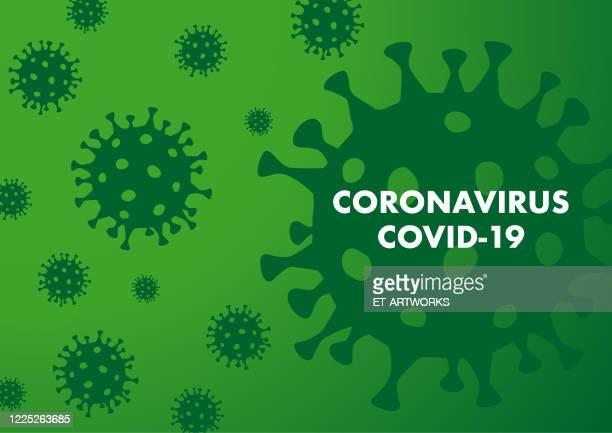 vector coronovirus background - viral shedding stock illustrations