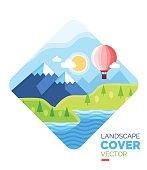 vector cover landscape 1