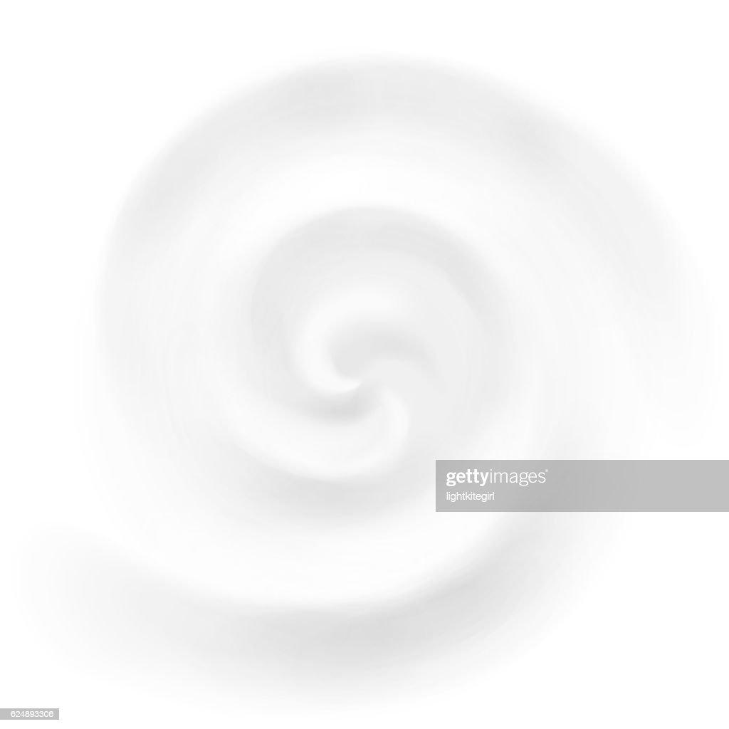Vector cream, yogurt or milk swirl background
