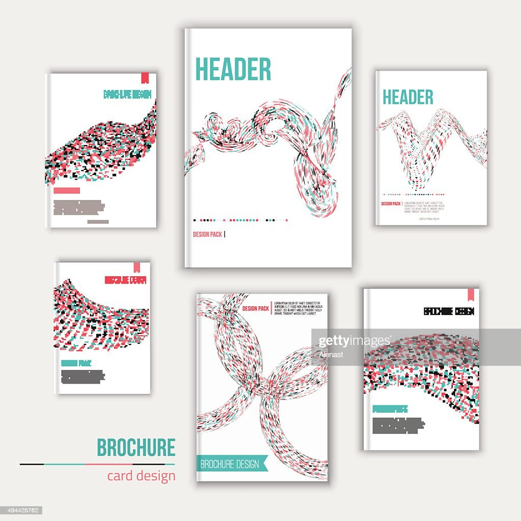 Vector creative brochure cover design templates