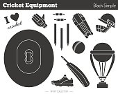 Vector cricket game design elements