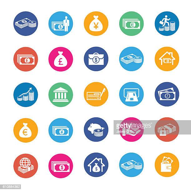 Vector Currency icons