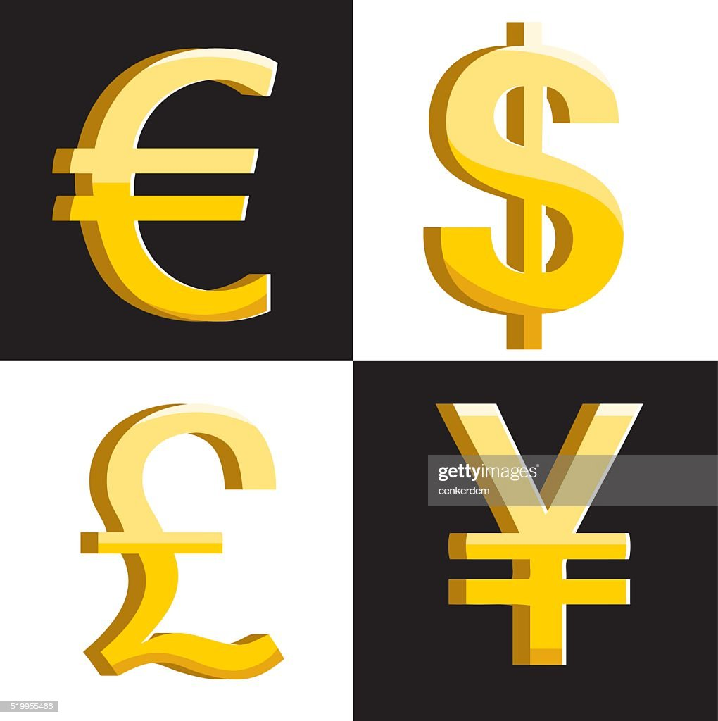 Vector Currency Symbols Vector Art Getty Images
