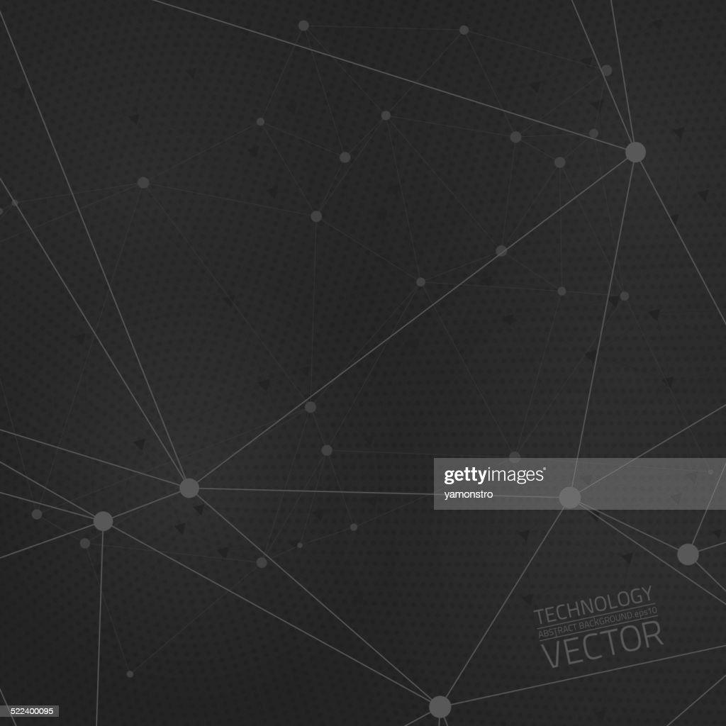 Vector dark grey background