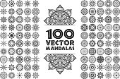 Vector decorate Mandala