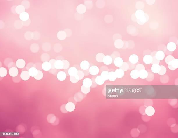 illustrazioni stock, clip art, cartoni animati e icone di tendenza di vettore defocus luce rosa - rosa pallido