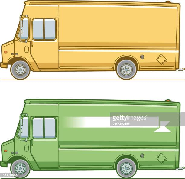 vector delivery minibus
