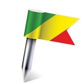Vector Democratic Republic of Congo flag
