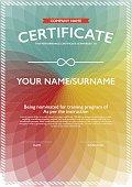 vector design certificate.