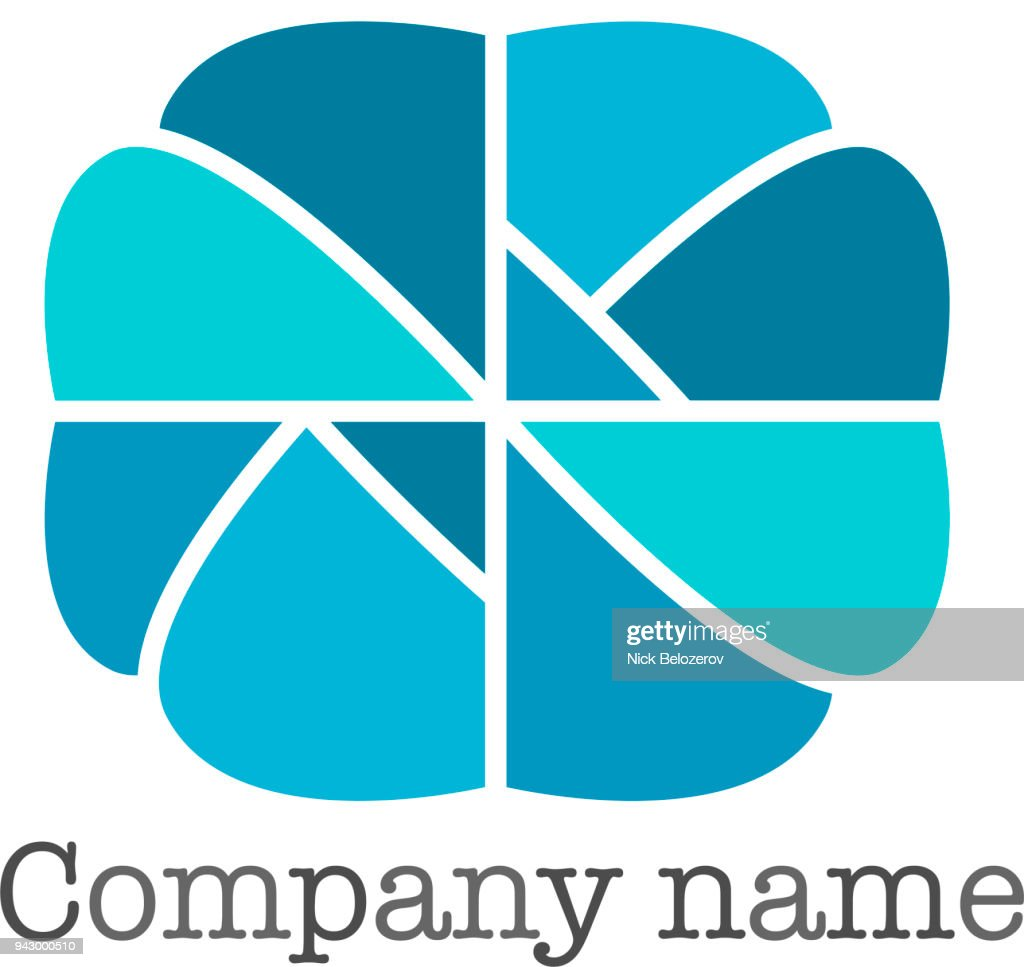 Vector design element, colorful   for business, technology, ecology and medicine, organic and food