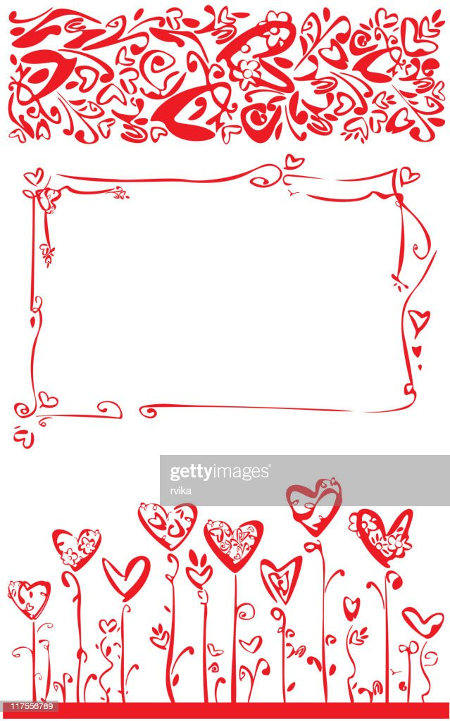 Vector design  elements for Valentine's day.