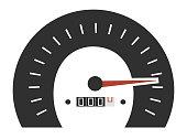 Vector design of speedometer gauges