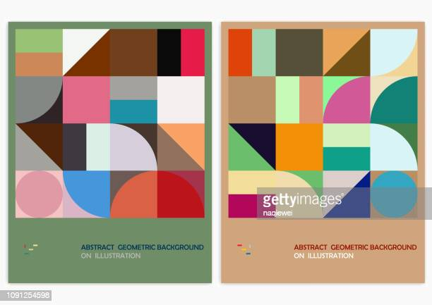 vector design pattern backgrounds - shape stock illustrations