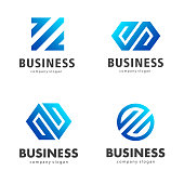 Vector design template for business