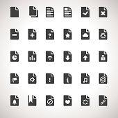 Vector Documents Icon Set