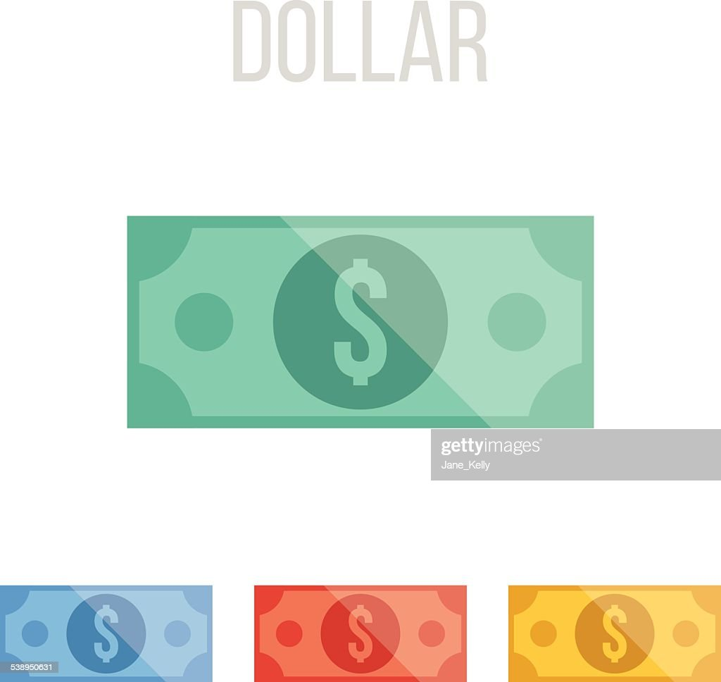 Vector dollar icons