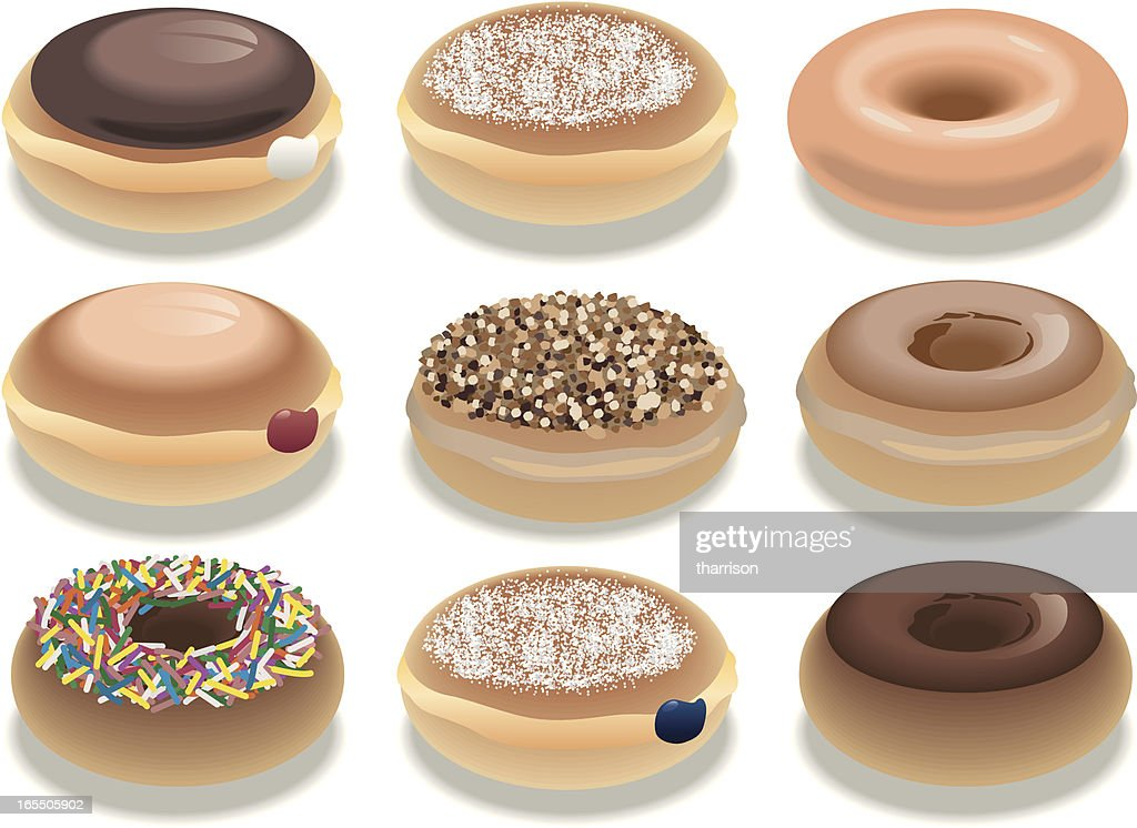 Vector Donuts : stock illustration