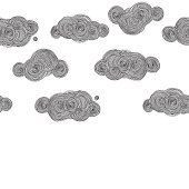 vector drawing clouds