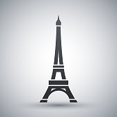 Vector Eiffel Tower Icon