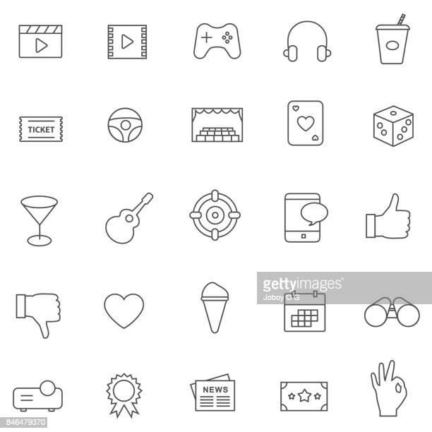Vector entertainment icon