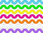 Vector Eps8 Ric Rac in 7 Colors