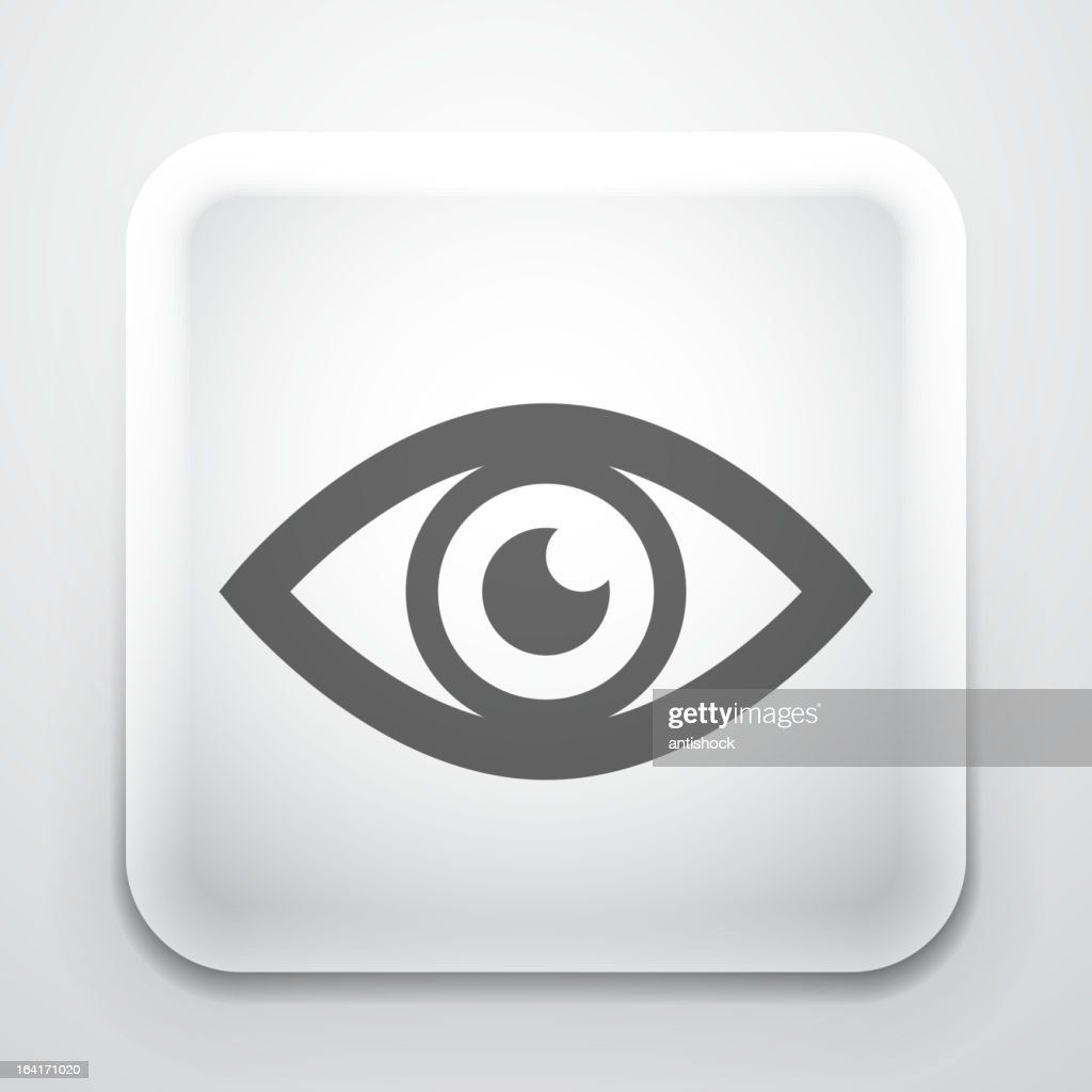 Vector eye button