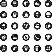 Vector Food Icons - 25 Icons