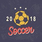 Vector Football emblem Template