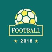 Vector Football icon Template