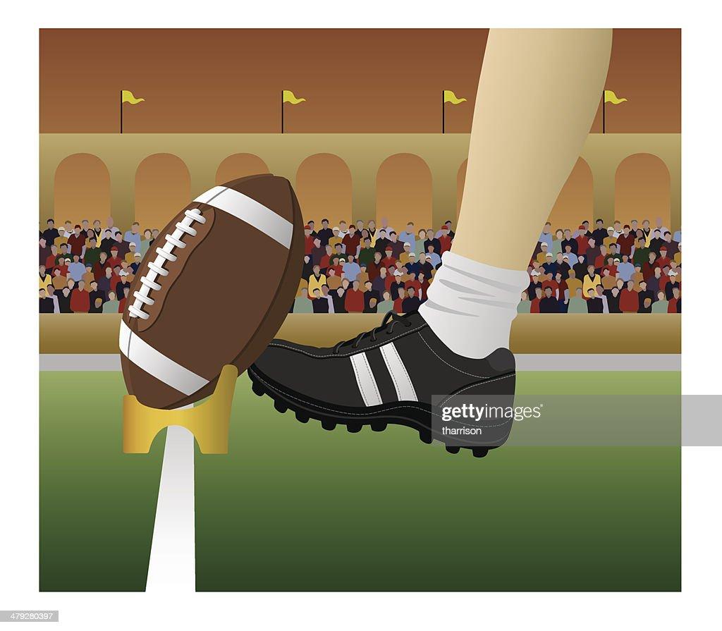Vector Football Kickoff