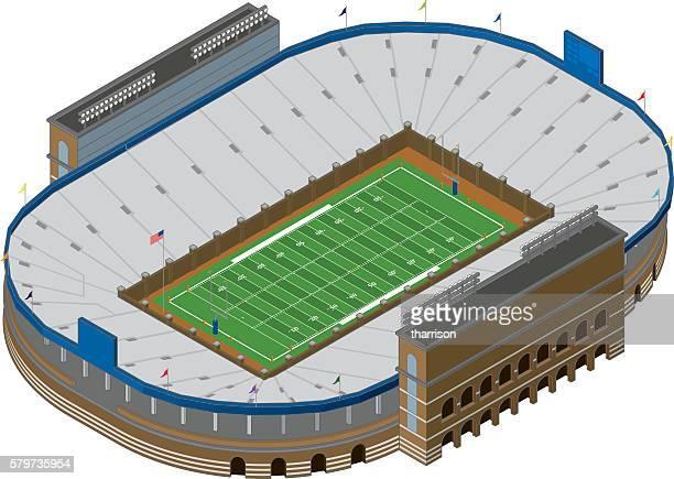 Vektor-Footballstadion