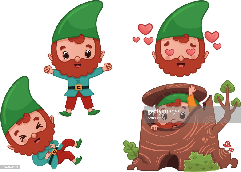 Vector Forest Gnome