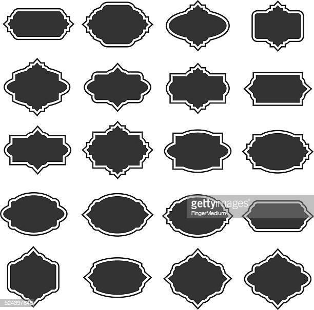 Vecteur Frame Set