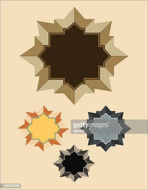 ilustrações, clipart, desenhos animados e ícones de quadro de vetor de design de moda - great seal