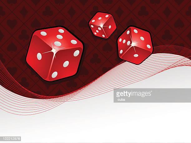 Vector gambling background