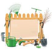 Vector Garden Board