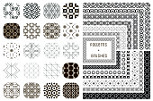 20 Vector Geometric Patterns and 12 Pattern Brushes