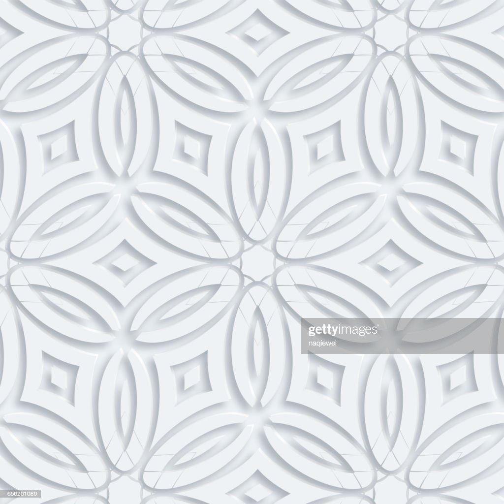 3D vector geometry pattern