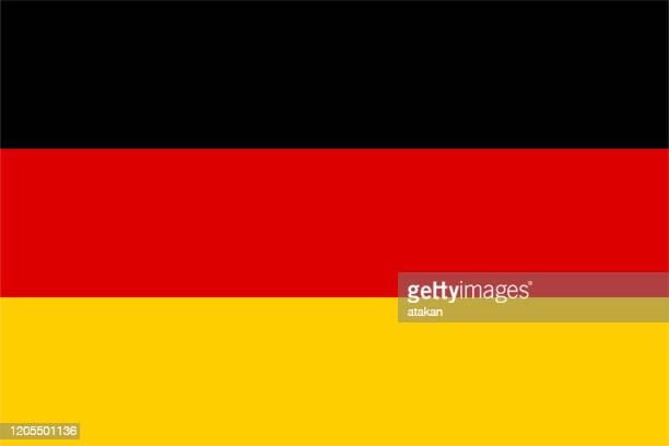 vector deutsche flagge design - deutsche flagge stock-grafiken, -clipart, -cartoons und -symbole