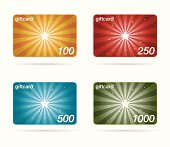 vector gift cards collection