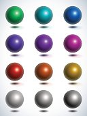 vector glossy sphere