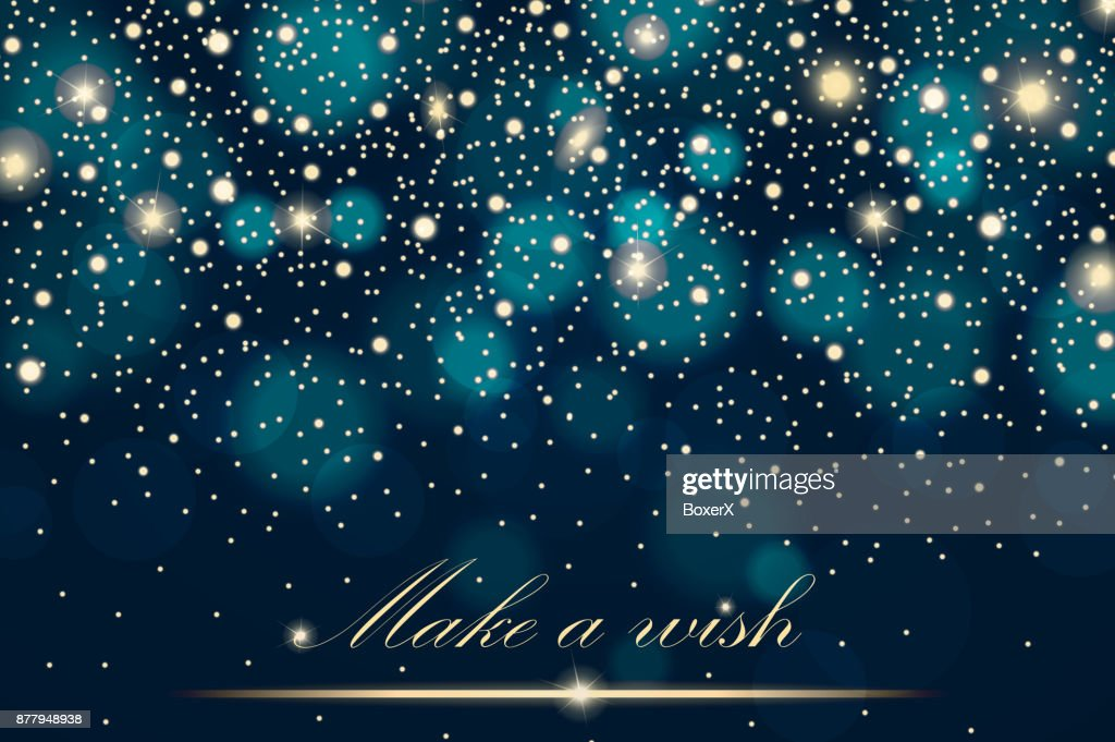 Vector Gold Glitter Particles Background Effect For Luxury