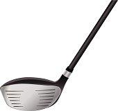 Vector Golf Club Driver Illustration