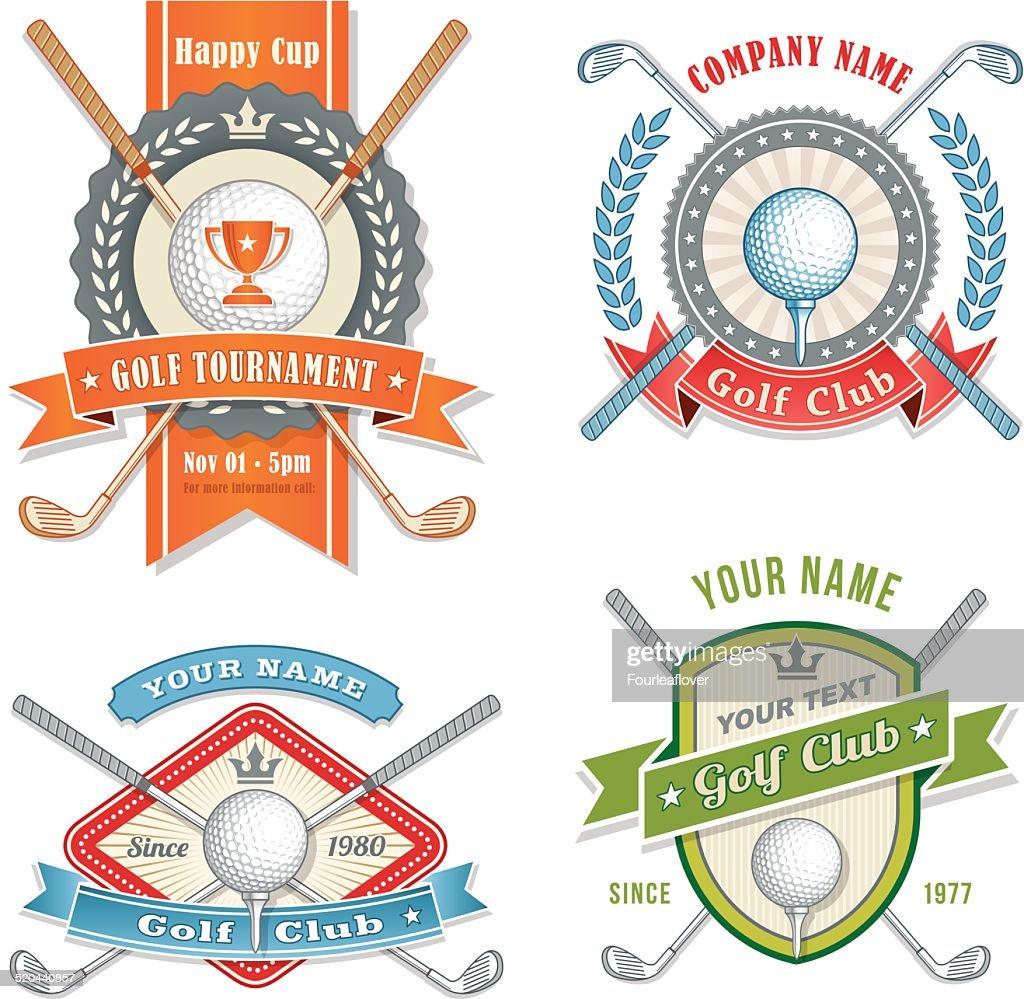 Vector Golf Club Logos