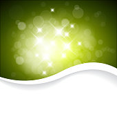 Vector Green background with place for your text